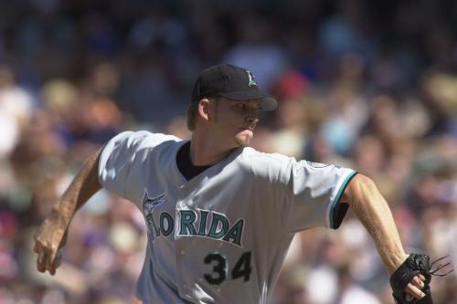 20-year Marliniversary: A.J. Burnett walks nine, but no-hits Padres