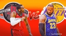NBA odds: Rockets vs. Lakers prediction, odds, pick, and more