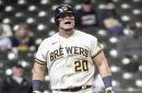 A passive approach at the plate is a major problem for the Milwaukee Brewers