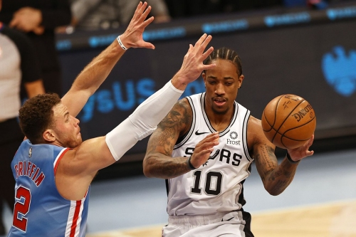San Antonio at Brooklyn, Final Score: Harden, Durand lead Spurs over Nets 128-116