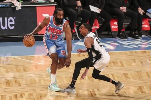 James Harden registers near triple-double in return; Nets beat struggling Spurs, 128-116