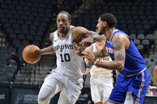 Game Thread: San Antonio Spurs at New York Knicks