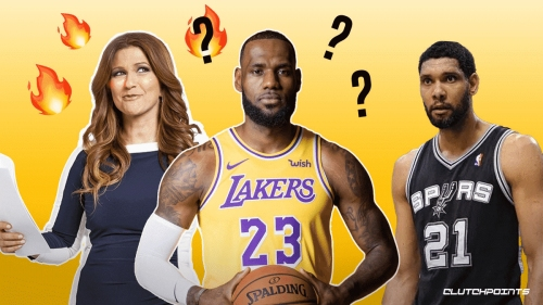 Rachel Nichols roasted for awkward LeBron James question in Tim Duncan's Hall of Fame interview