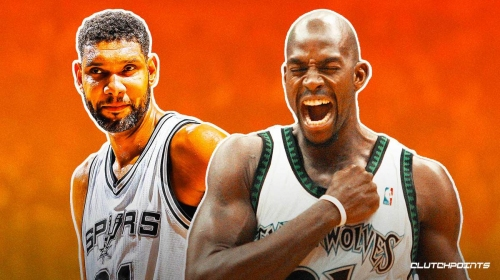 The 5 most epic matchups between Tim Duncan and Kevin Garnett