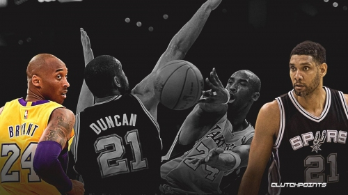 Kobe Bryant: The story of Lakers legend's rivalry with Tim Duncan