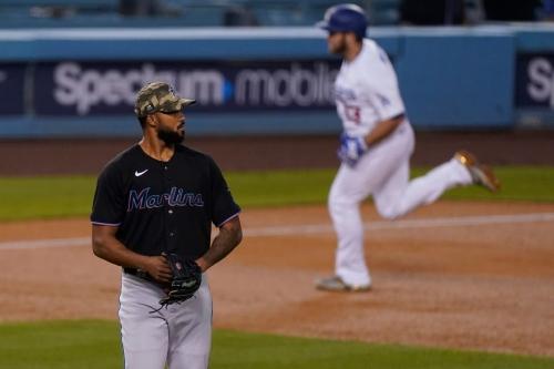 MIA 6, LAD 9; Second inning dooms Alcantara, Marlins
