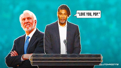 Spurs legend Tim Duncan's powerful message to Gregg Popovich in Hall of Fame speech