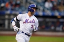 Michael Conforto and Jeff McNeil leave game vs. Rays with hamstring injuries