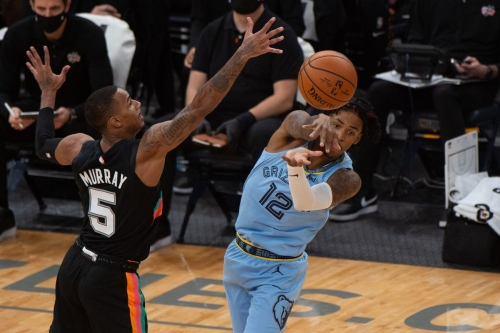 The Spurs will face the Memphis Grizzles in Game 1 of the Playin Tournament