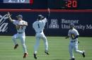 Arizona baseball hits 4 homers to complete sweep of Washington