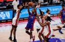 Detroit Pistons season finale vs. Miami Heat: Best photos