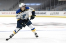 Blues may be without Perron for Game 1 against Avalanche