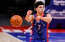 Detroit Pistons secure second-best odds in NBA draft lottery with 120-107 loss to Heat