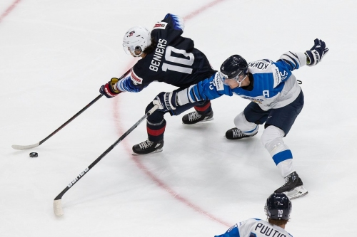 Matthew Beniers: A Quick-Rising Forward With Strong Defensive Skills