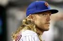 Mets' Noah Syndergaard takes next step in throwing program
