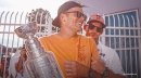 Let's see Buccaneers' Tom Brady try to throw Stanley Cup to Rob Gronkowski while drunk on tequila