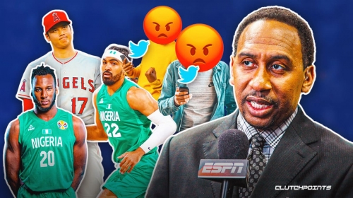 Twitter is going off on Stephen A. Smith after atrocious Shohei Ohtani, Nigeria rants