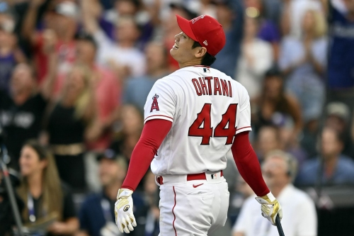 Shohei Ohtani gets upset in Home Run Derby in exciting first round