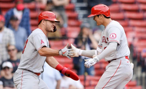 Angels bank on improved pitching, return of Mike Trout to make second-half run