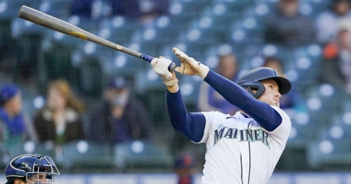 Outfielder Jarred Kelenic will rejoin Mariners when they play Angels on Friday