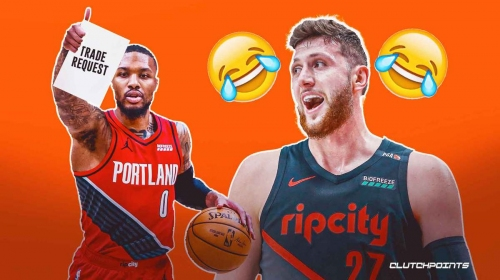 Blazers' Jusuf Nurkic fires back at rumors of Damian Lillard trade request