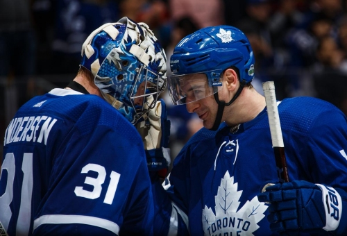 Zach Hyman. Frederik Andersen. The Maple Leafs have quick decisions to make, but fans hoping for a major shakeup will be disappointed