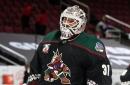 San Jose Sharks acquire goaltender Adin Hill