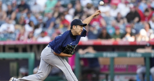 Yusei Kikuchi gets roughed up in first game since All-Star break as Angels drop Mariners