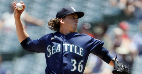Logan Gilbert strikes out career high 9 as Mariners take game, series from Angels