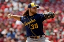 Corbin Burnes dominates as Brewers shutout Reds, 8-0, to secure series sweep