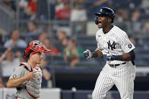 LOOK: Yankees' Estevan Florial hits his first career MLB home run