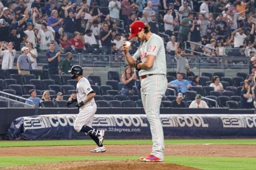 Pitching, Home Runs, and Errors Strike Again: Yankees 6, Phillies 4