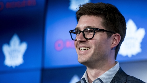 Watch Live: Maple Leafs GM Kyle Dubas addresses media after expansion draft