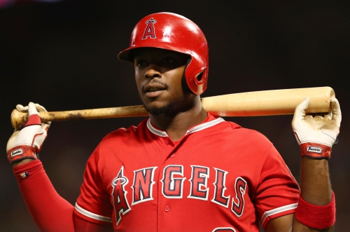 Justin Upton rejoins Angels' lineup after missing a month with a bad back