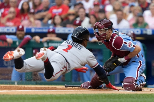 Scott and cold: Braves 7, Phillies 2