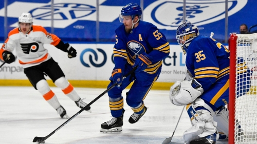 Flyers acquire defenceman Ristolainen from Sabres for Hagg, draft picks