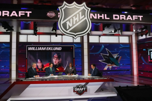 2021 NHL Draft: Sharks select William Eklund with No. 7 pick