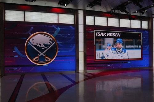 Buffalo Sabres select Isak Rosen with the 14th pick in the 2021 NHL Draft