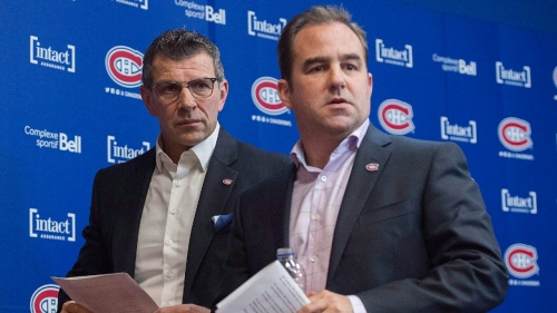 Canadiens owner Molson comments on team drafting Mailloux