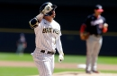 Kolten Wong is breaking the mold as leadoff hitter for the Milwaukee Brewers