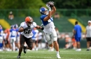 Giants roster moves: LS Carson Tinker cut, TE Cole Hikutini released