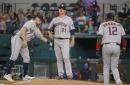 Nuclear Meltdown in Arlington. Astros get Fukashimed by Rangers 13-2.