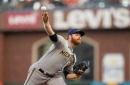 Brewers Strike Early in 6-2 Win Over Giants