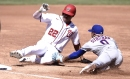 Mets' Marcus Stroman shows off athleticism by running down Juan Soto