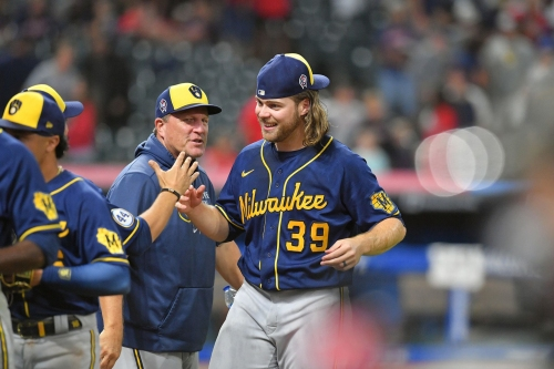 Milwaukee Brewers pitchers Corbin Burnes and Josh Hader combine for a no-hitter, an MLB-record 9th of the season