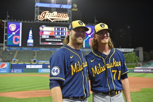 Corbin Burnes and Josh Hader combine for second no-hitter in Brewers history