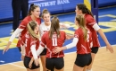 Photos from the Wisconsin vs. Marquette women's volleyball showdown