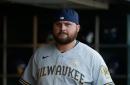 Milwaukee Brewers place Rowdy Tellez on 10-Day IL with patella strain, recall Luke Maile