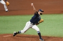 Nick Anderson returns to the Rays bullpen throwing 92 mph