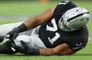 Denzelle Good out for season, Raiders worry about other injured players